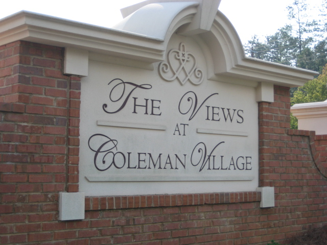 The Views At Coleman Village Townhomes Community Entrance, Roswell Georgia, 30075, Condominium, 2003