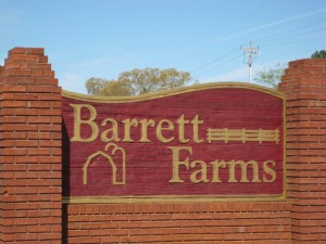 Neighborhood Barrett Farms Holly Springs