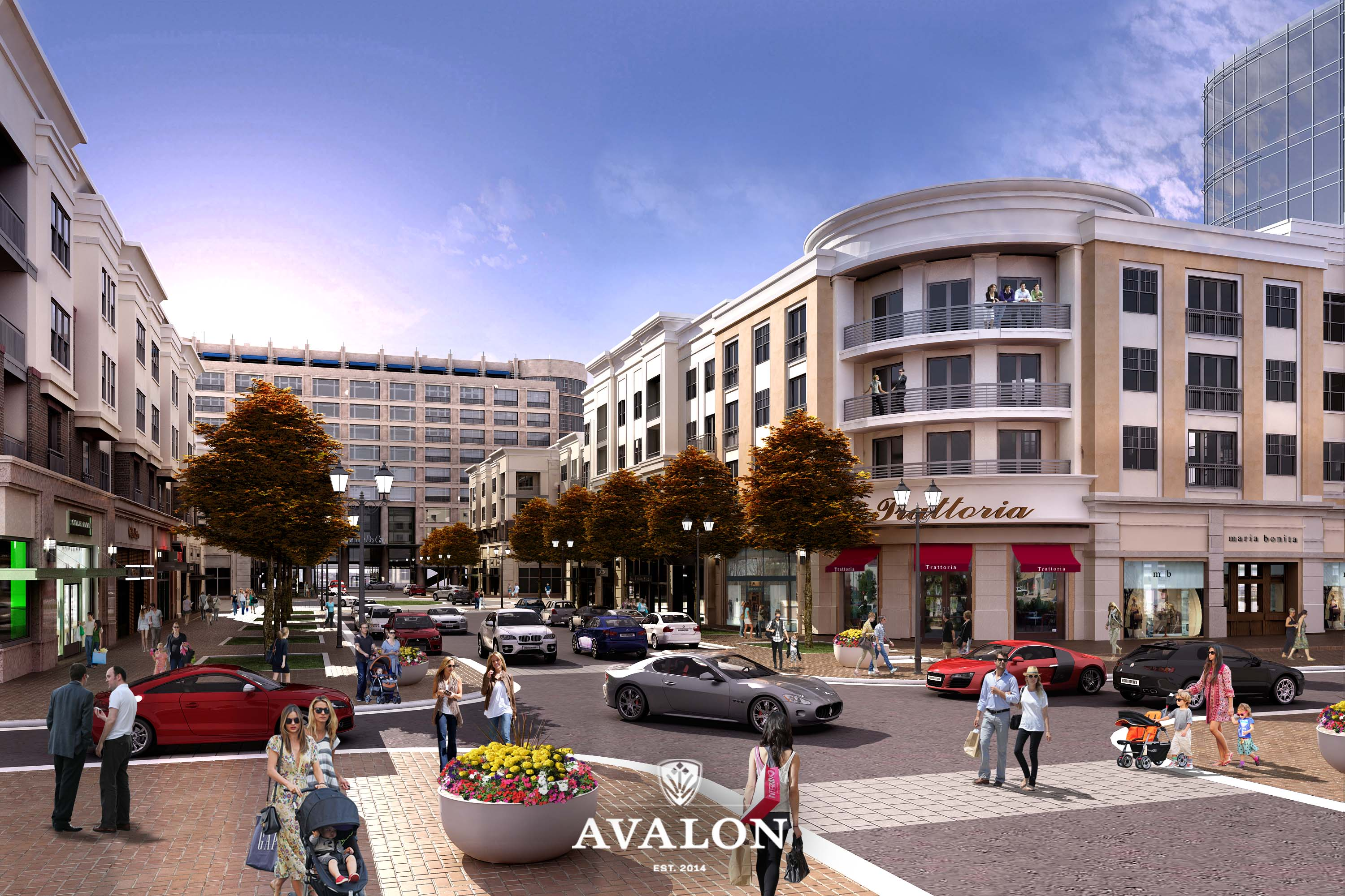 Avalon Alpharetta Mixed Use Residences Shops Movie Theatre