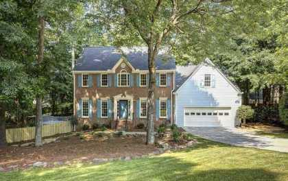 Home In Alpharetta Mayfield Community